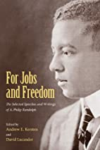 For Jobs and Freedom: Selected Speeches and…