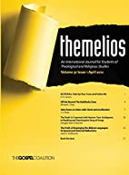 Themelios, Volume 37, Issue 1 by D. A.…
