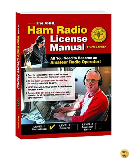 TThe ARRL Ham Radio License Manual