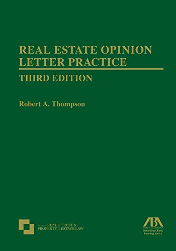 real-estate-opinion-letter-practice