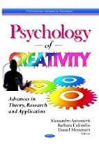 Psychology of Creativity: Advances in…