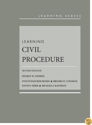 TLearning Civil Procedure (Learning Series)