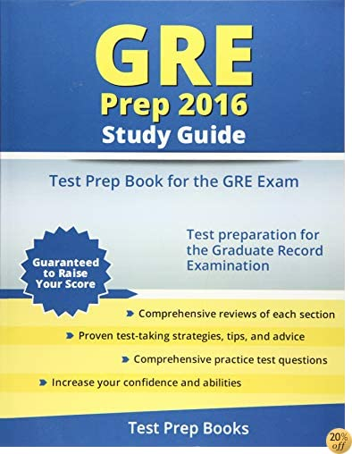 TGRE Prep 2016 Study Guide: Test Prep Book for the GRE Exam