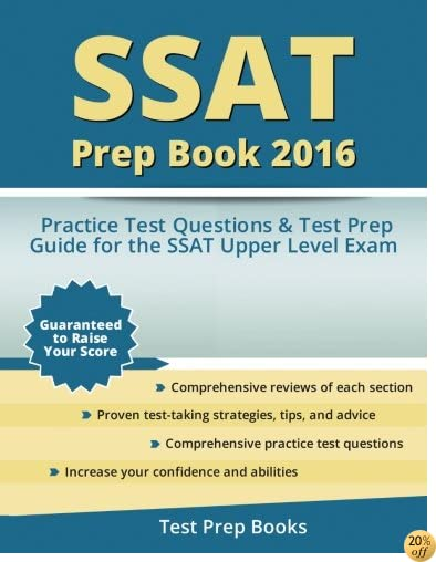 TSSAT Prep Book 2016: SSAT Upper Level Practice Test Questions and Test Prep Guide