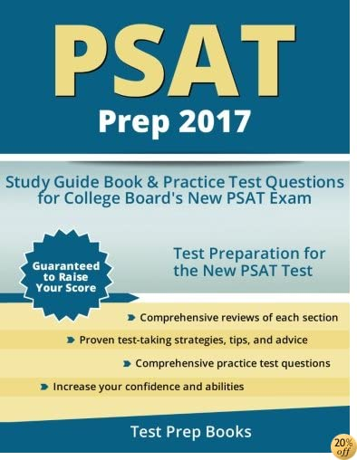TPSAT Prep 2017: Study Guide Book & Practice Test Questions for College Board's New PSAT Exam