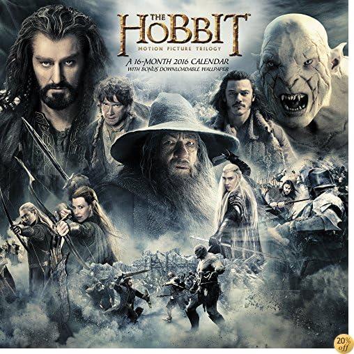 TThe Hobbit Motion Picture Trilogy Wall Calendar (2016)