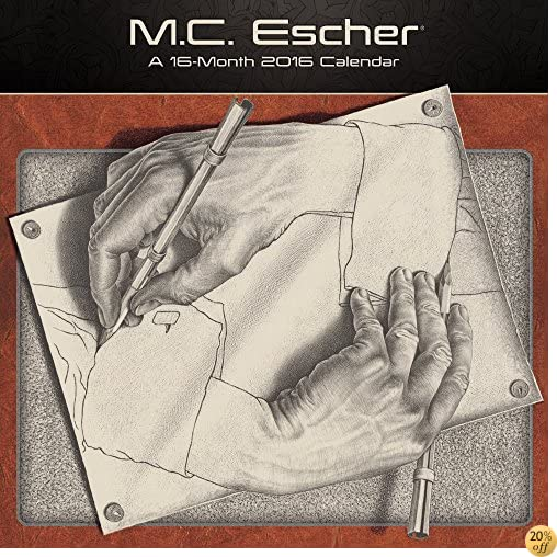 TM.C. Escher Wall Calendar (2016)