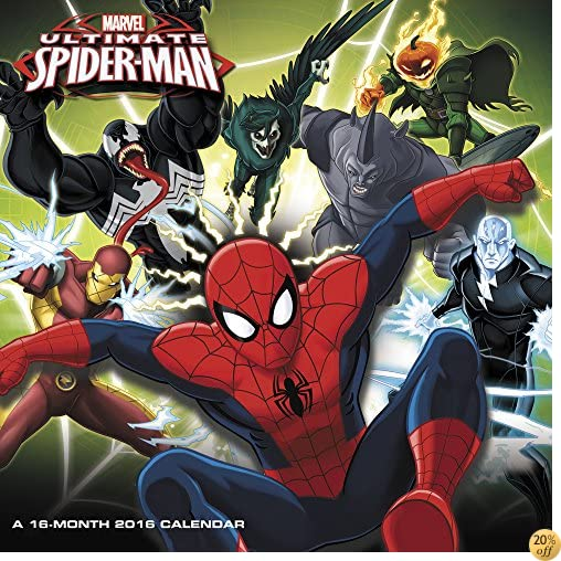 TUltimate Spider-Man Wall Calendar (2016)