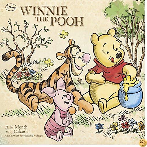 TWinnie the Pooh Wall Calendar (2017)