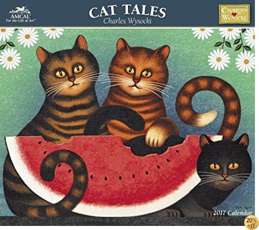 TCharles Wysocki - Cat Tales Wall Calendar (2017)