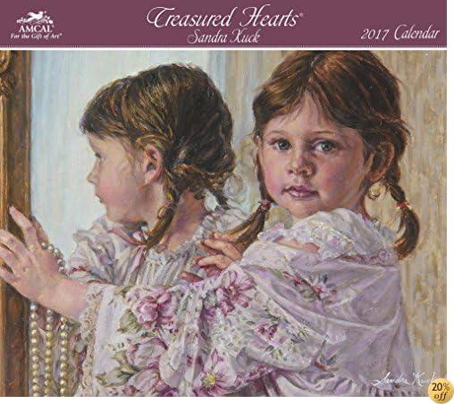 TSandra Kuck - Treasured Hearts Wall Calendar (2017)