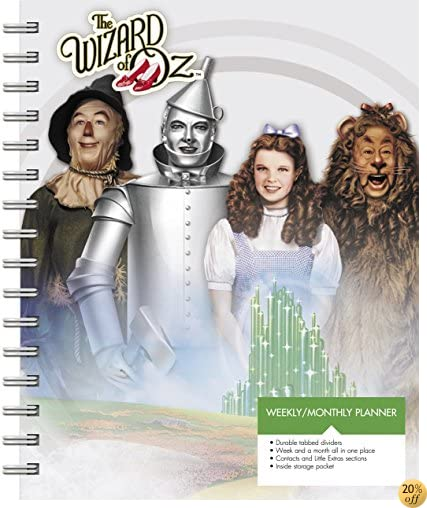 TThe Wizard of Oz Weekly and Monthly Planner (2017)