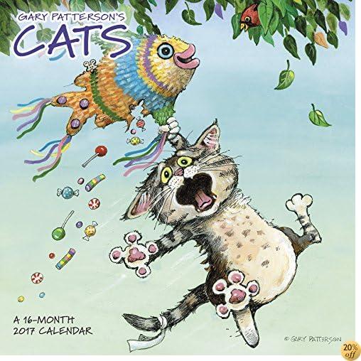 Gary Patterson's Cats Wall Calendar (2017)