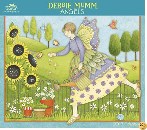 TDebbie Mumm - Angels Wall Calendar (2017)