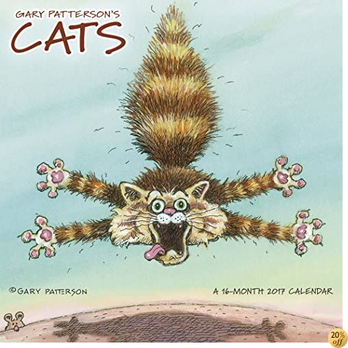 TGary Patterson's Cats Mini Wall Calendar (2017)