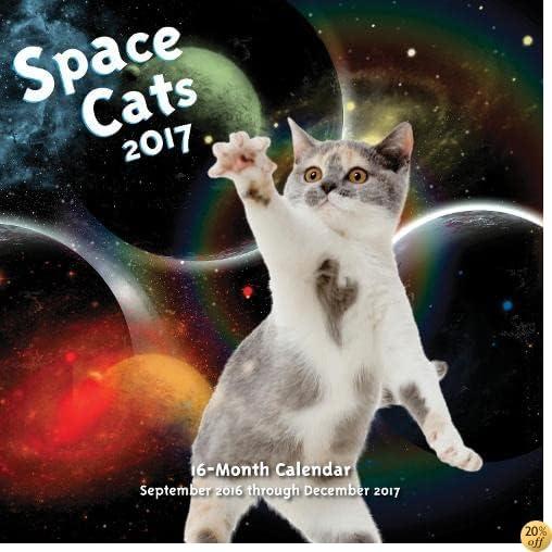 TSpace Cats 2017: 16-Month Calendar September 2016 through December 2017