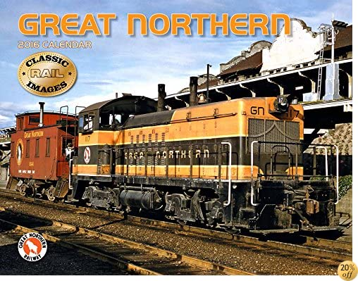 TGreat Northern Railway 2016 Calendar 11x14