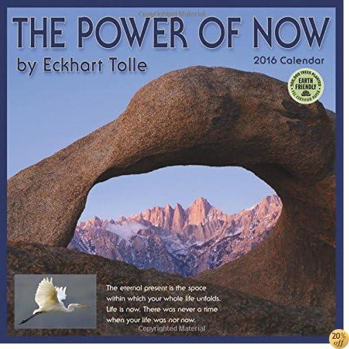 TThe Power of Now 2016 Wall Calendar