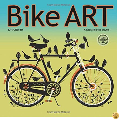 TBike Art 2016 Bicycle Wall Calendar