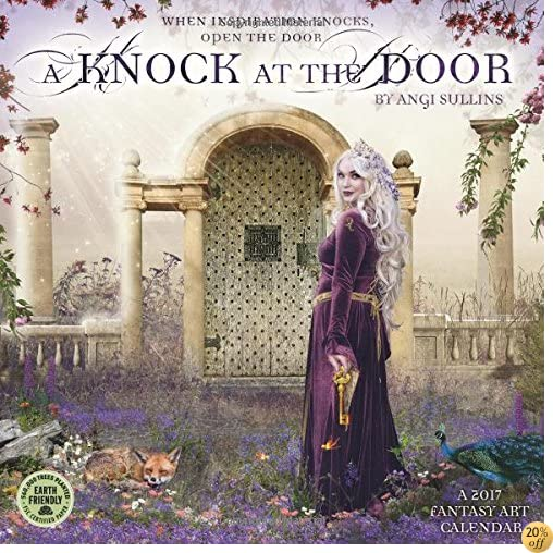 TA Knock at the Door 2017 Fantasy Art Wall Calendar