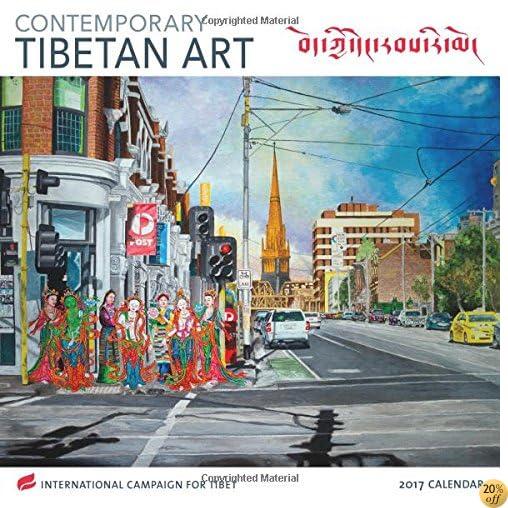 TContemporary Tibetan Art 2017 Wall Calendar: International Campaign for Tibet