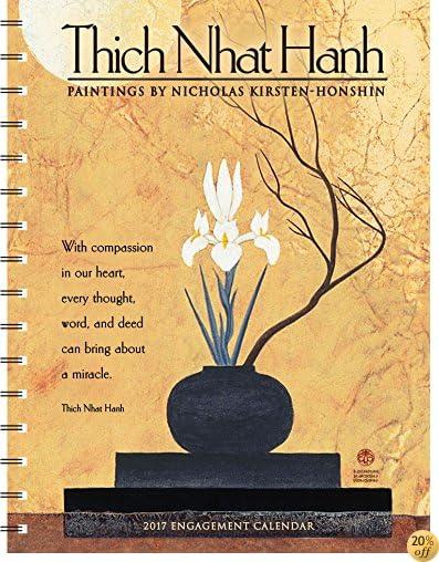 TThich Nhat Hanh 2017 Engagement Datebook Calendar