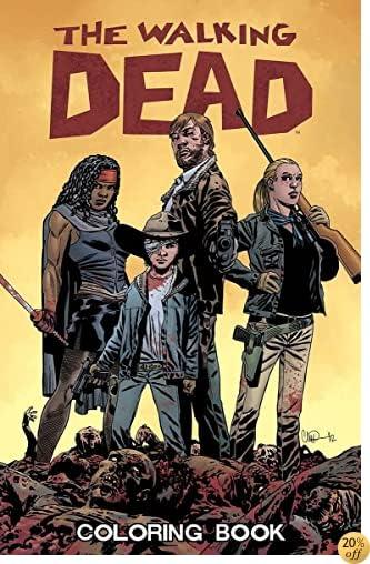 TThe Walking Dead Coloring Book