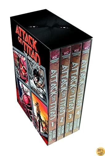 TAttack on Titan: The Beginning Box Set (Volumes 1-4)