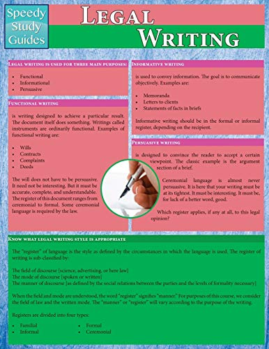 legal-writing-speedy-study-guides-academic