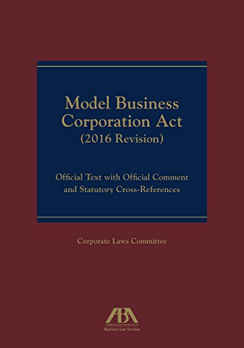 model-business-corporation-act-official-text-with-official-commentary-statutory-cross-references