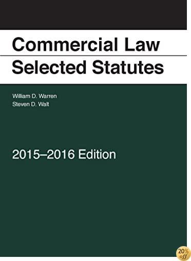 TCommercial Law: Selected Statutes, 2015-2016