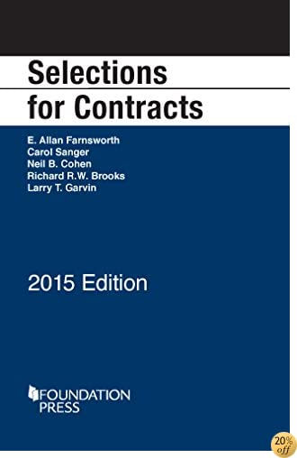 TSelections for Contracts, 2015 (Selected Statutes)