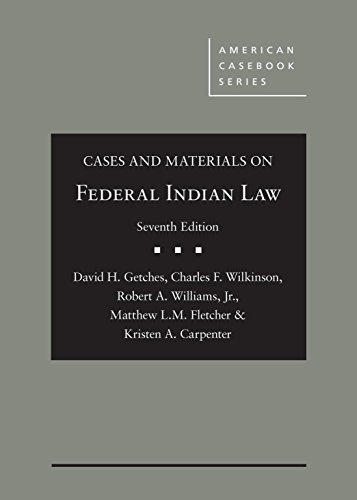cases-and-materials-on-federal-indian-law-american-cas-series