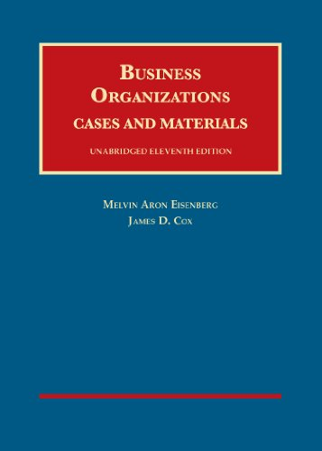 business-organizations-cases-and-materials-unabridged-11th-cas