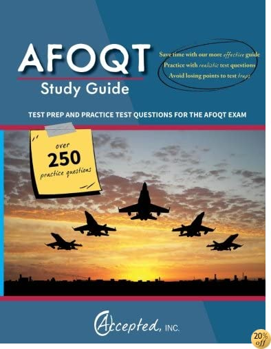TAFOQT Study Guide: Test Prep and Practice Test Questions for the AFOQT Exam