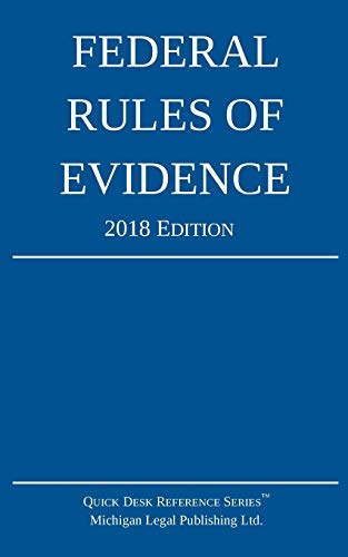 federal-rules-of-evidence-2018-edition