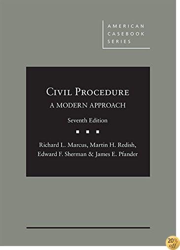 TCivil Procedure, A Modern Approach - CasebookPlus (American Casebook Series)