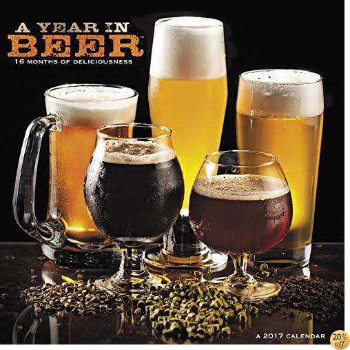 TA Year in Beer TM Wall Calendar (2017)