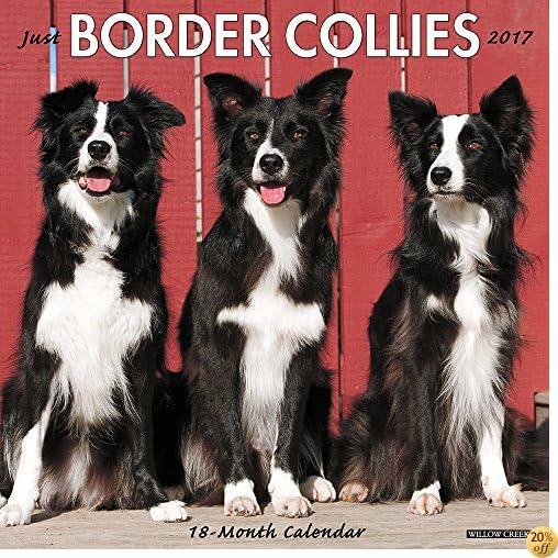 TJust Border Collies 2017 Wall Calendar (Dog Breed Calendars)