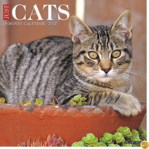 Just Cats 2017 Wall Calendar