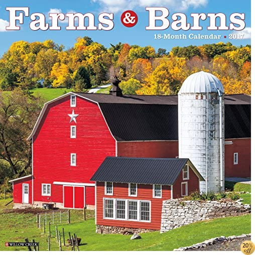 TFarms & Barns 2017 Wall Calendar