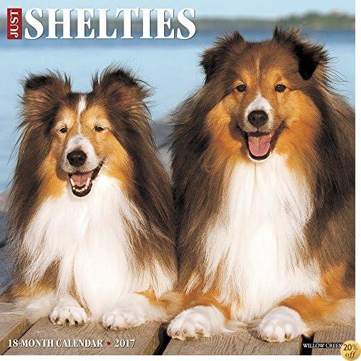TJust Shelties 2017 Wall Calendar (Dog Breed Calendars)
