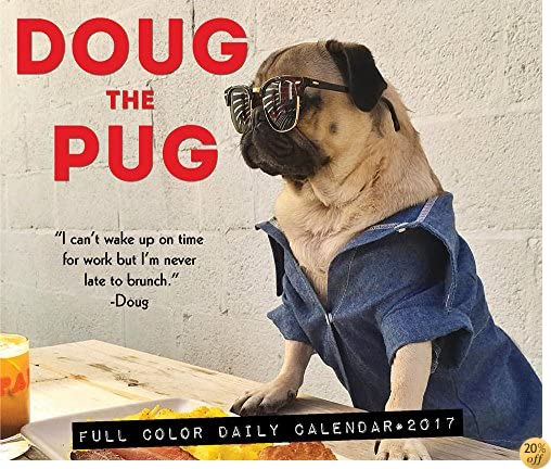 TDoug the Pug 2017 Box Calendar