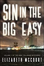 Sin in The Big Easy by Elizabeth McCourt