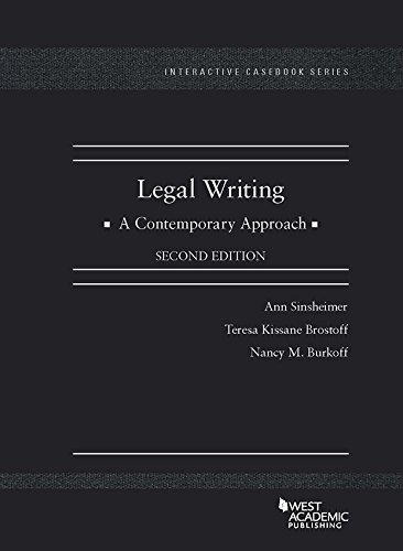 legal-writing-a-contemporary-approach-interactive-cas-series