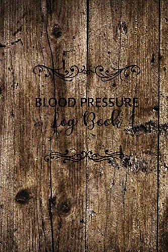 blood-pressure-log-book-daily-personal-record-health-monitor-tracking-numbers-of-blood-pressure-monday-to-sunday-readings-for-54-weeks-health-diary-not-6x9-inch