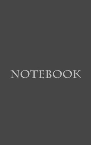 not-classic-premium-writing-not-journal-diary-5x8-100-lined-pages-charcoal-colored