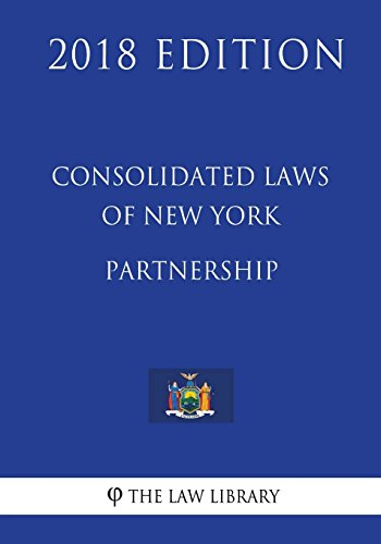 consolidated-laws-of-new-york-partnership-2018-edition