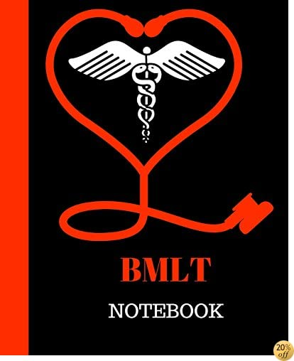 BMLT Notebook: Bachelor of Medical Lab Technicians Gift  120 Pages Notebook