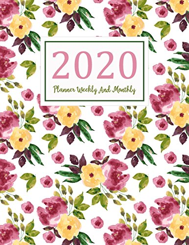 2020-planner-weekly-and-monthly-a-year-365-daily-52-week-journal-planner-calendar-schedule-organizer-appointment-not-monthly-planner-to-do-planner-weekly-and-monthly-volume-12